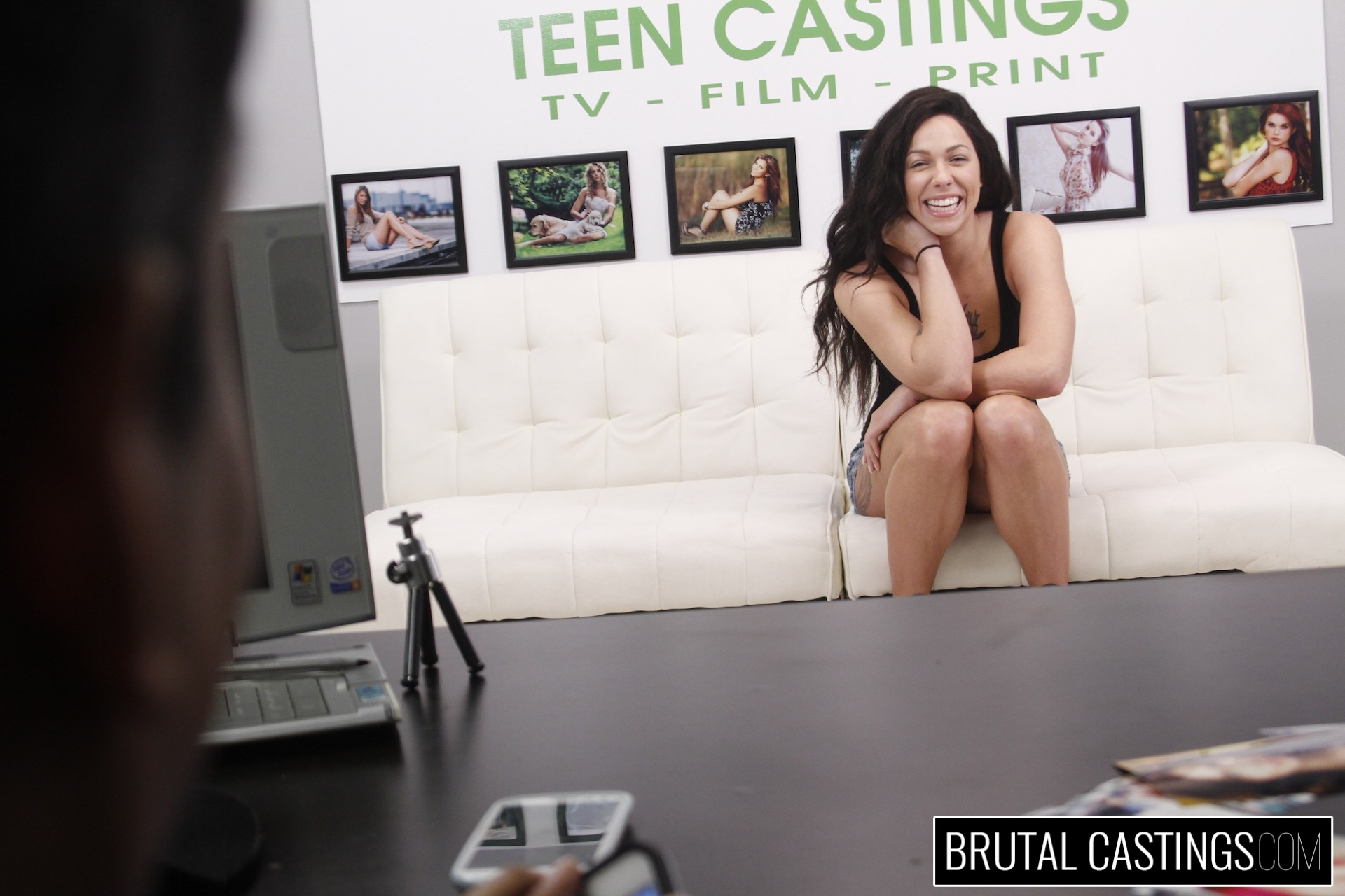BDSM Casting Couch with Harlow Harrison