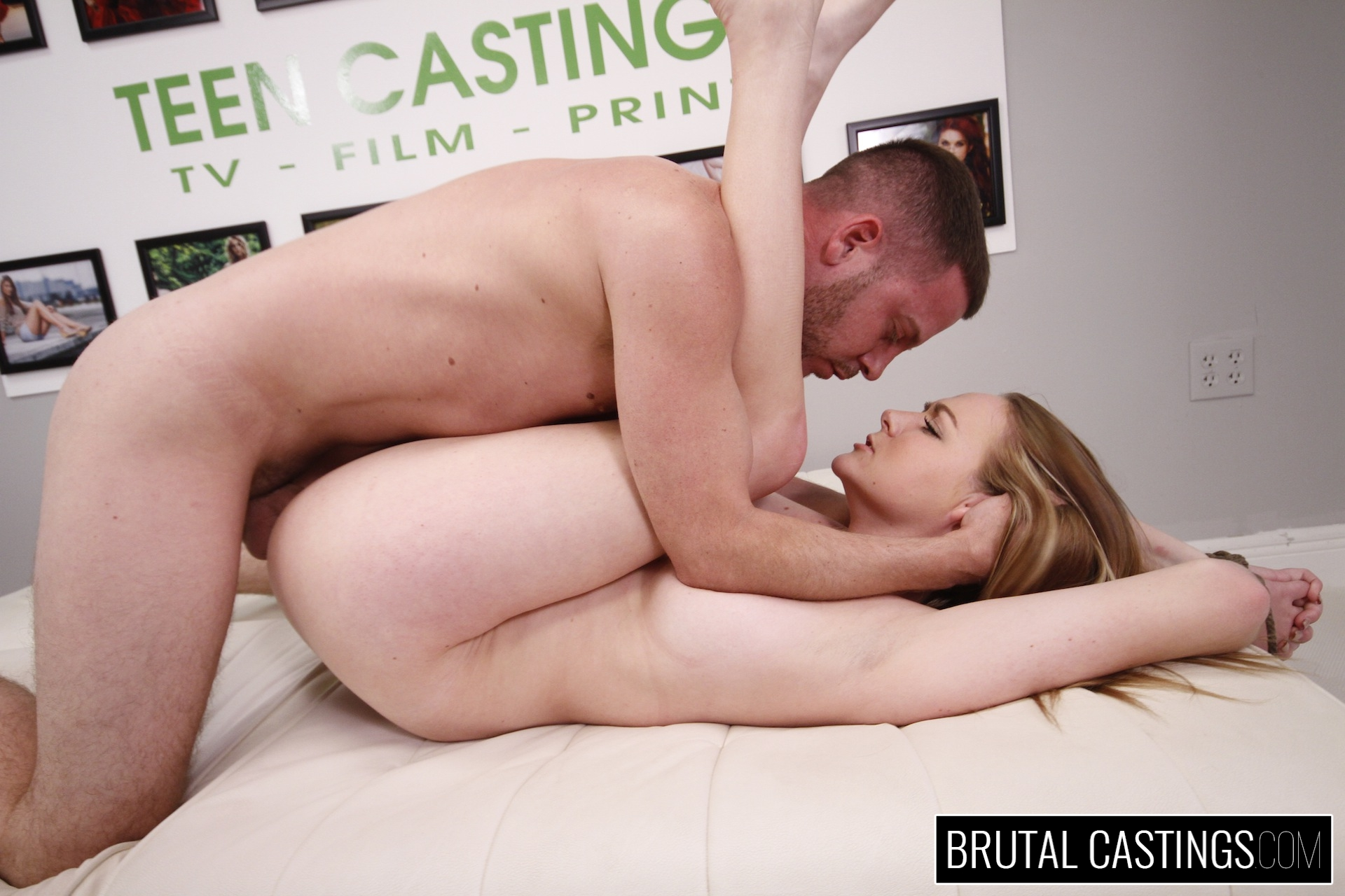 Casting couch with leigh rose. Leigh Rose, a nice bubbly girl next door, is ready to take over the entertainment industry with Teen Castings! She'll do anything to get what she wants. She'll even endure , domination, rope bondage, deepthroat bj, fingering, squirting, spanking, slapping and deep penetration violent sex.
