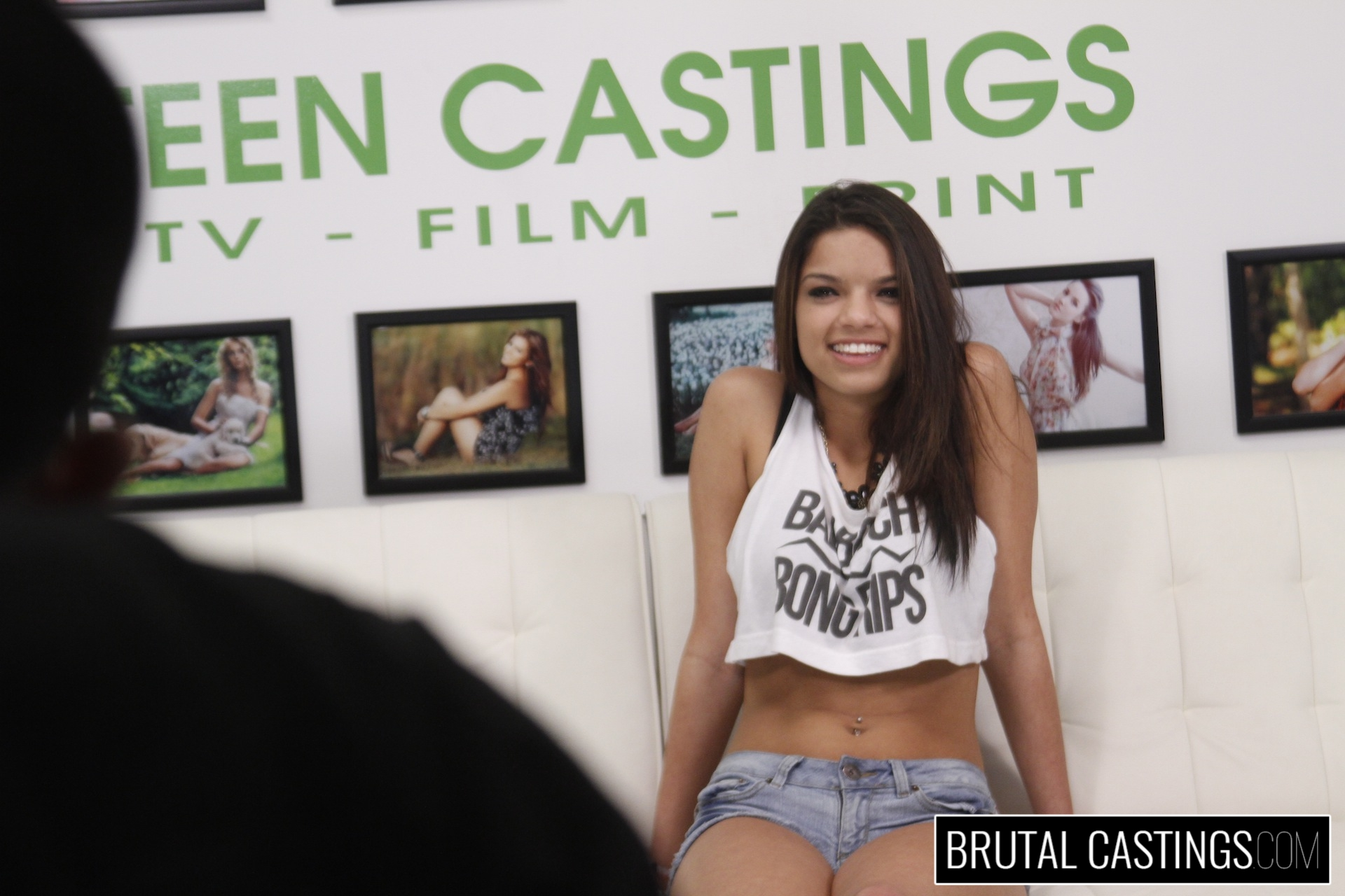 Bdsm casting couch with carrie brooks. Carrie Brooks, a hot young smiley face with caramel skin, wants to become a model and all the fun perks with Teen Castings! She'll do anything to get what she wants. She'll even endure BDSM, domination, rope bondage, deepthroat bj, fingering, squirting, spanking, slapping and deep penetration violent sex.