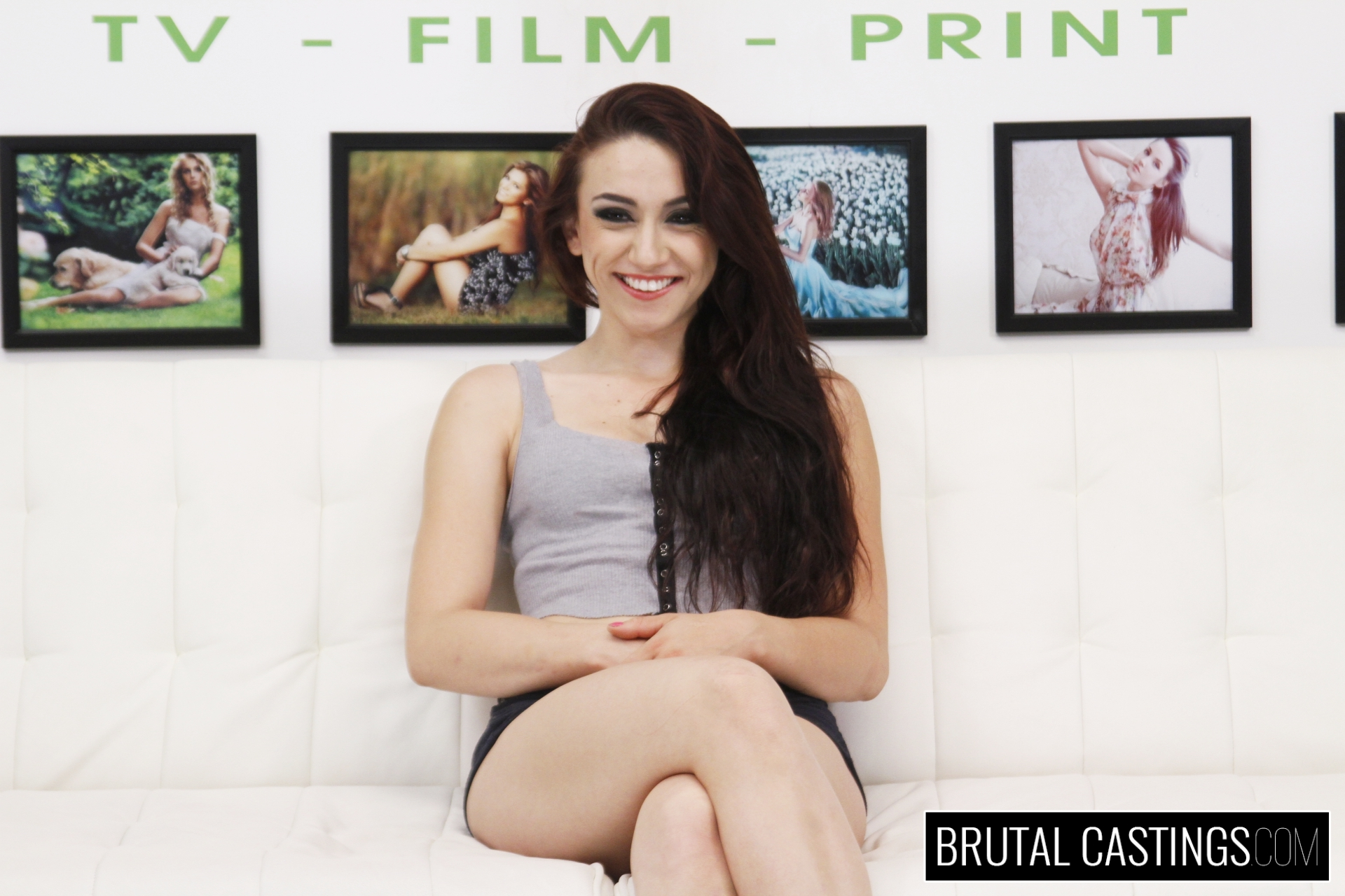 BDSM Casting Couch with Mandy Muse