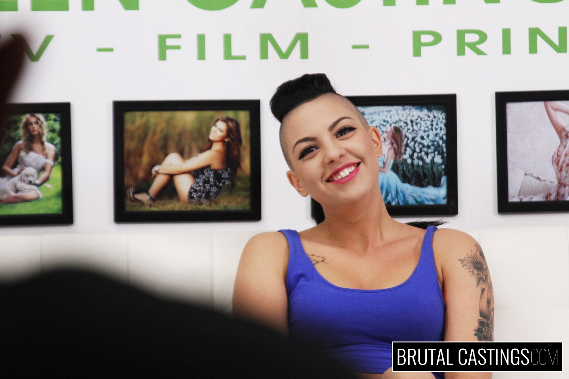 BDSM Casting Couch with Rachael Madori